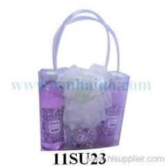 PVC bag bath set