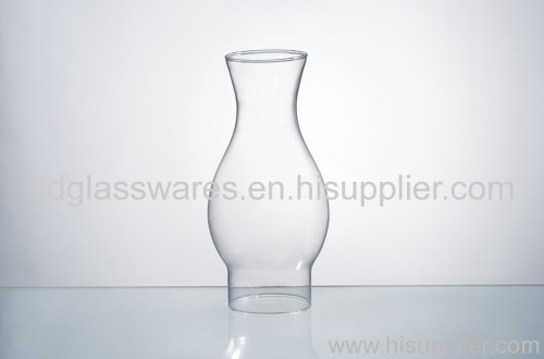 Chinese clear glass lamp shade