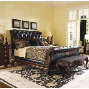 Home Furniture Bed carved cabinet from china manufacturer - odmk home furniture co.,ltd