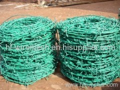 PVC coated barbed wire coils