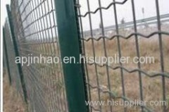 Euro welded fencing