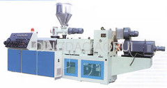 PVC pipe extrusion production machinery