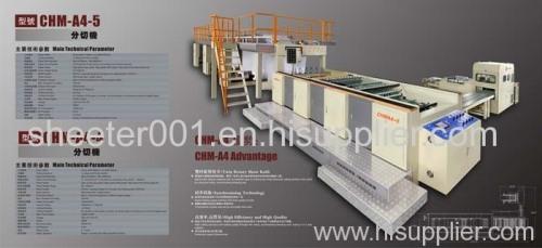 A4 A3 F4 photocopier paper cutting machine and packaging machine