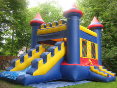 ICB-903 Blue combo,bounce house
