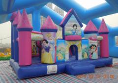 ICB-904 Disney princess bouncy castle, bounce house