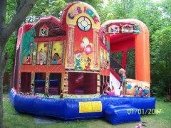 Club bouncy castle,bounce house