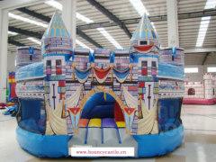 Digital printing bounce house, bouncy castle