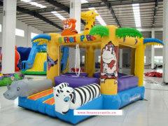 Safari park bounce house