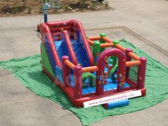 slide bounce house, bouncy castle