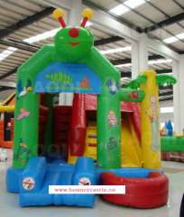 ICB-923 Caterpillar bounce house for kids
