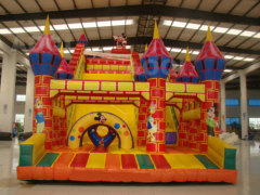 Mickey mouse bouncy slide