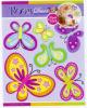 Butterfly Chipboard 3D wall Sticker