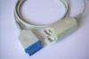 spo2 sensor, NIBP cuff, ECG/EKG cable, medical connector