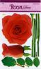Rose combinative wall art sticker