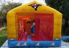 Beach bounce house, bouncy castle