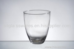 10x11.5cm glass candle cup