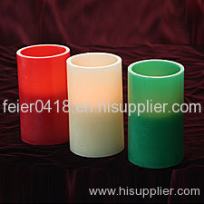 electronic wax real candle