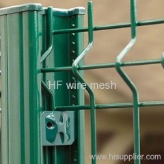 PVC coated stainless steel fence