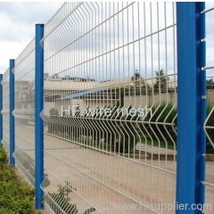 Plastic coated square fence