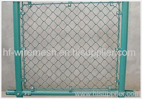 PVC Coated Chain Link Fence net from China manufacturer