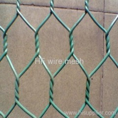 High quality PVC coated hexagonal fence