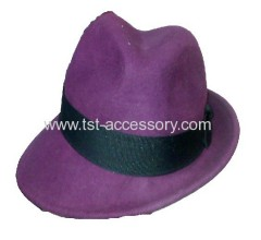 Personal touch felt hat
