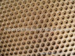 Perforated metal plates