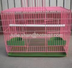 PVC coated Galvanized pet cage