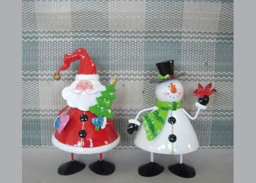 Christmas Wobbling Santa And Snowman Decorations A00006 Manufacturer From  China Atico International LTD