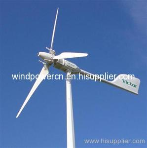 3kw variable pitch wind turbine from China manufacturer