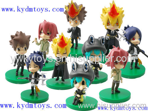 Moq Usd300 6 8 5cm Cute Toys Of Hitman Reborn Action Figure Toy Ky3585 Manufacturer From China Yiwu Kool Friend Co Ltd