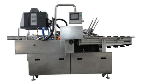 High Speed Plaster Posted Box Packing Machine
