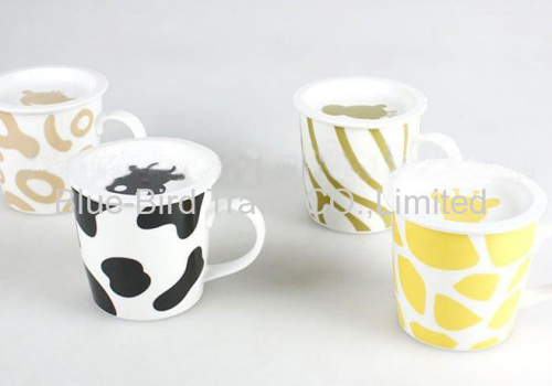 Promotion Mug Cover Manufacturer Bluebird With From China Ceramic XZ0ON8nPkw