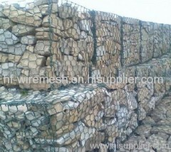 pvc coated gabion baskets for retaining wall