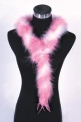 turkey feather scarves