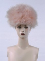 ladies' feather hat