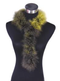 turkey feather scarf