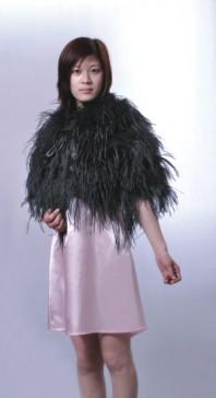 Turkey Feather Shawl