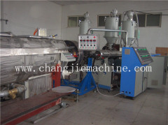 HDPE water pipe production line