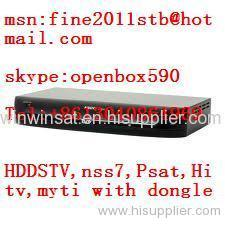 Africa Dongle with HD DVB-S MPEG4 Receiver for HD DSTV,NSS7,Badr6