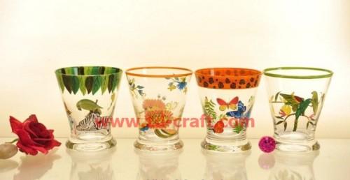 glass sets, glassware, glass craft