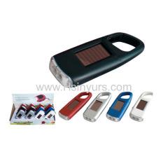 Carabiner solar torch