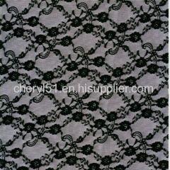 jacquard lace fabric elastic lace fabric spandex fabric