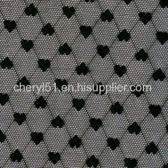heart design fabric
