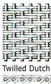 Dutch Weave Wire Cloth Dutch plain Dutch twill