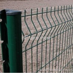 square PVC coated fence