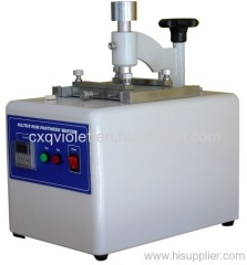 IULTCS Leather Abrasion Tester
