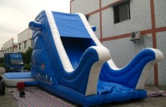 IS-68 bouncy water slide
