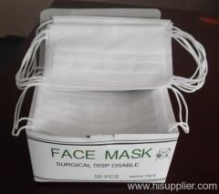 Ear-loop face mask