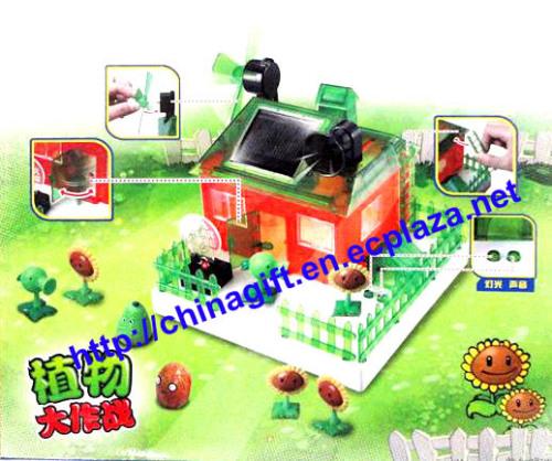 Solar Eco-House Electronics Kit